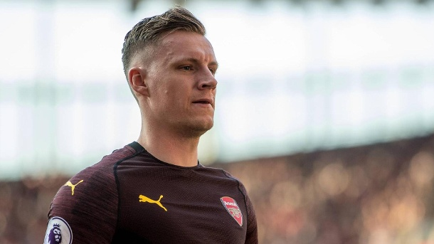 "Europa-League – Bernd Leno über Finale in Baku: ""Das ist ein Skandal"". Bernd Leno: Arsenals Torhüter kritisiert die Vergabe des Europa-League-Finals. (Quelle: imago images/MB Media Solutions)"