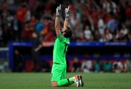 Alisson Becker: Note 1 (Quelle: dpa/Mike Egerton)