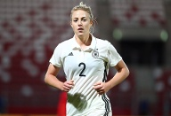 Abwehr: Carolin Simon (26, Olympique Lyon) (Quelle: imago images/Pictures Point LE)