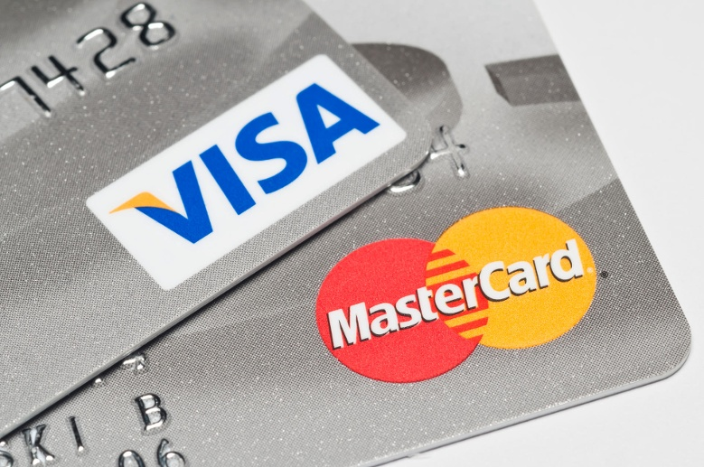 Visa and Mastercard logos (Quelle: Getty Images)