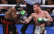 Platz 4: Canelo Alvarez (Boxen/Mexiko) – 94 Mio. US-Dollar. (Quelle: imago images/ZUMA Press)