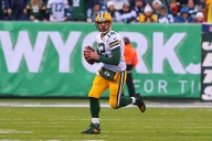 Platz 7: Aaron Rodgers (Football/Green Bay Packers/USA) – 89,3 Mio. US-Dollar. (Quelle: imago images/Icon SMI)