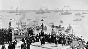20.06.1895: Als ein Kanal Nord- und Ostsee verband (Quelle: dpa/M. Ziesler/akg-images)