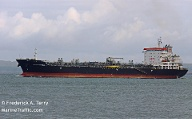 "Der Tanker ""Kokuka Courageous"" in Westport, US-Staat Washington (Archivbild).  (Quelle: Frederick A. Terry / MarineTraffic.com)"