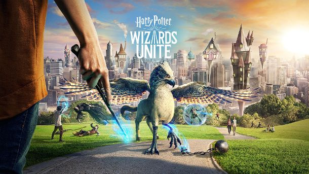 'Harry Potter: Wizards Unite': In dem Spiel begeben sich die Spieler in die Welt von Harry Potter.  (Quelle: harrypotterwizardsunite.com/ Niantic/ WB Games San Francisco )