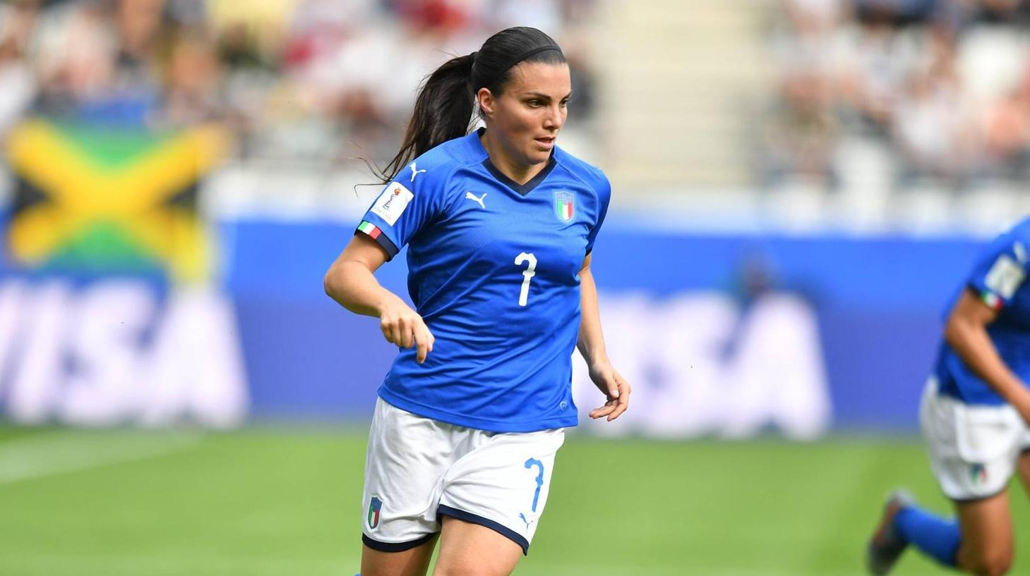 Italy - China 2: 0: WOMAN World Cup in live ticker. Alia Guagni from Italy. (Source: foto2press)
