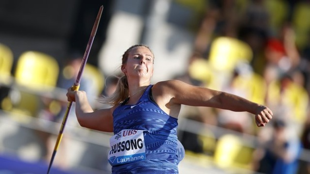 Diamond League - Leichtathletik: Hussong und Schwanitz siegen in Lausanne. Warf in Lausanne am weitesten: Christin Hussong.