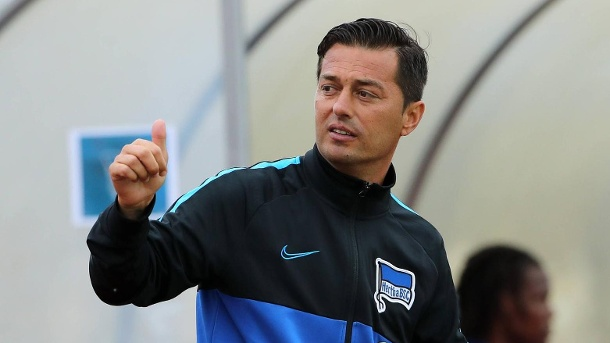 Set Herta on an offensive system: New Chief Trainer Ante Covic. (Source: imago images / contrast)