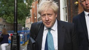 Boris Johnson: Der Chef der Konservativen Partei will Premierminister Großbritanniens werden. (Quelle: imago images/Zuma Press)