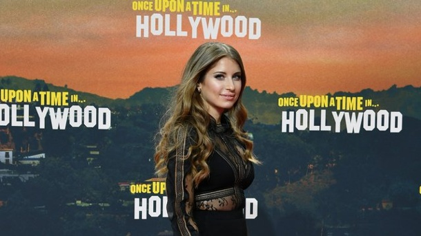 """Harter Stoff: Cathy Hummels mag Horrorfilme. Cathy Hummels bei der Premiere von """"Once upon a time."""