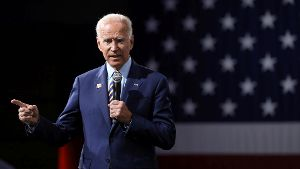 2020 Democratic U.S. presidential candidate and former Vice President Joe Biden speaks during the Presidential Gun Sense Forum in Des Moines