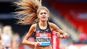 Konstanze Klosterhalfen lief die 1609 Meter beim Diamond-League-Meeting in Birmingham in 4:21,11 Minuten.
