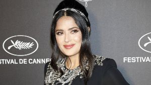 Salma Hayek at the Kering and Cannes Film Festival Official Dinner during the 72nd Cannes Film Fest
