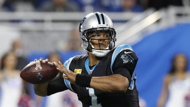 American Football - NFL: Carolina Panthers weiter sieglos. Cam Newton ist der Quarterback der Carolina Panthers.