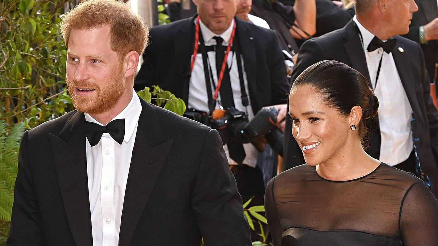 Harry And Meghan Show An Unpublished Image Of Archie