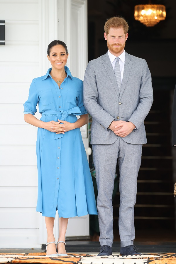 Meghan und Harry im Oktober 2018 in Tonga (Quelle: Getty Images)