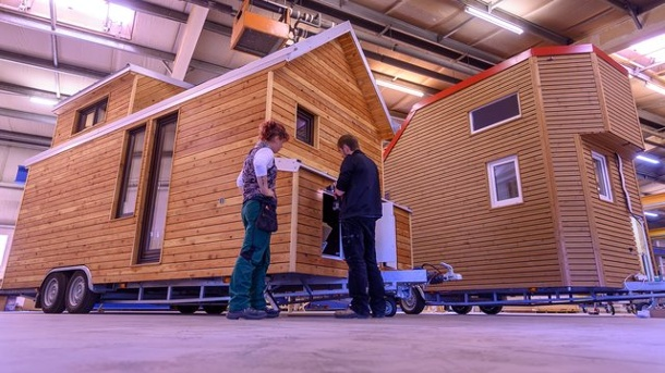 Große Tiny-House-Siedlung in Hannover geplant. Ein Tiny House