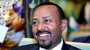 FILE PHOTO: Ethiopian Prime Minister Abiy Ahmed attends the High Level Consultation Meetings of Heads of State and Government on the situation in the Democratic Republic of Congo at the African Union Headquarters in Addis Ababa