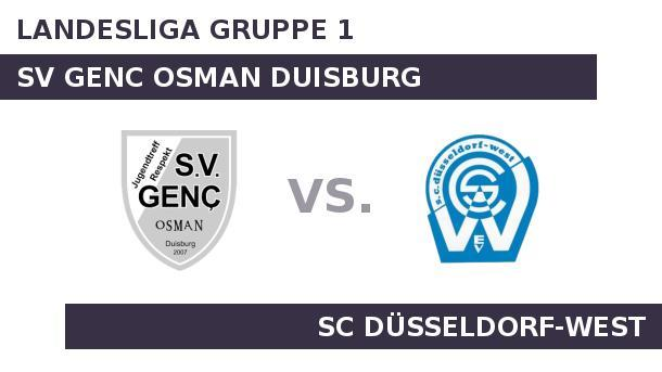 SV Genc Osman Duisburg gegen SC Düsseldorf-West: In der Fremde top. In der Fremde top (Quelle: Sportplatz Media)