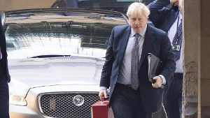 October 19, 2019, London, London, UK: London, UK. Prime Minister Boris Johnson arrives at The Houses of Parliament ahead