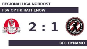 Rathenow gut in Form