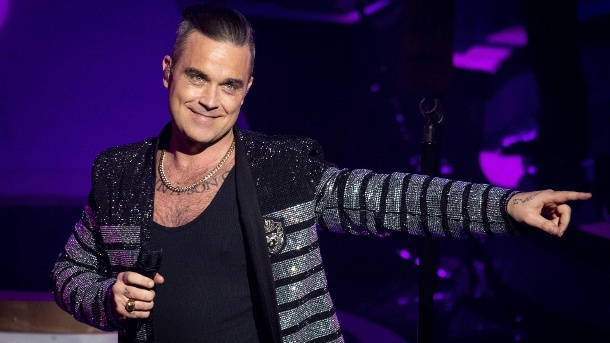 Robbie Williams. (Quelle: MediaPunch)