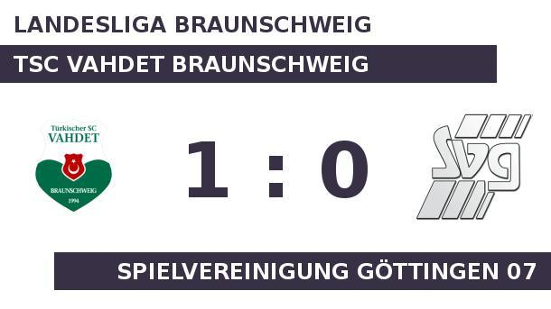 TSC Vahdet Braunschweig gegen Spielvereinigung Göttingen 07: Vahdet Braunschweig holt Big Points. Vahdet Braunschweig holt Big Points (Quelle: Sportplatz Media)