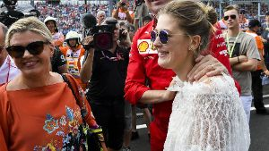 2019 Hungarian GP HUNGARORING HUNGARY AUGUST 04 Corinna Schumacher Gina Maria Schumacher and M
