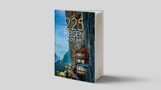 In 225 Reisen um die Welt. (Quelle: National Geographic)