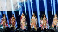 Contestants compete in the Miss Universe pageant at Tyler Perry Studios in Atlanta