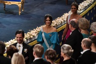 The Nobel Prize Award Ceremony 2019 (Quelle: Getty images )