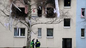 Explosion in an apartment block in the eastern German city of Blankenburg