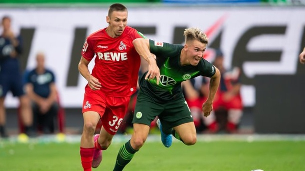 Sportchef FC Köln: Heldt dementiert Churlinov-Wechsel nach Stuttgart. Darko Churlinov (l) in Aktion für den 1.