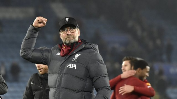 "Premier League - ""Abnormal"": Liverpool auf Titelkurs - Klopp warnt. Gibt den Mahner: Liverpool-Coach Jürgen Klopp."
