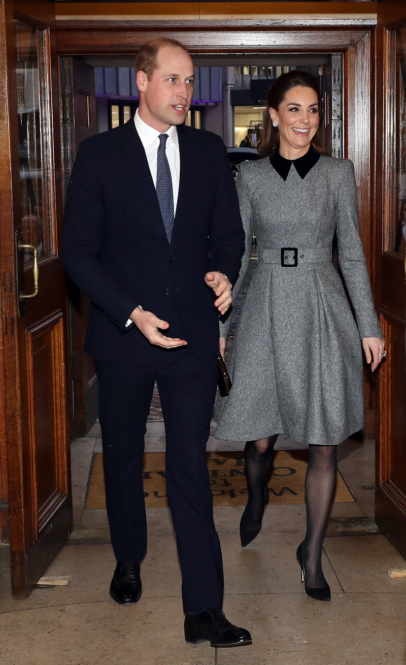 Prinz William und Herzogin Kate: Die beiden waren am Holocaust-Gedenktag in Westminster. (Quelle:  Chris Jackson/Getty Images)