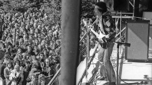 1970: Als Jimi Hendrix Fehmarn rockte (Quelle: Getty Images/Michael Ochs Archives)