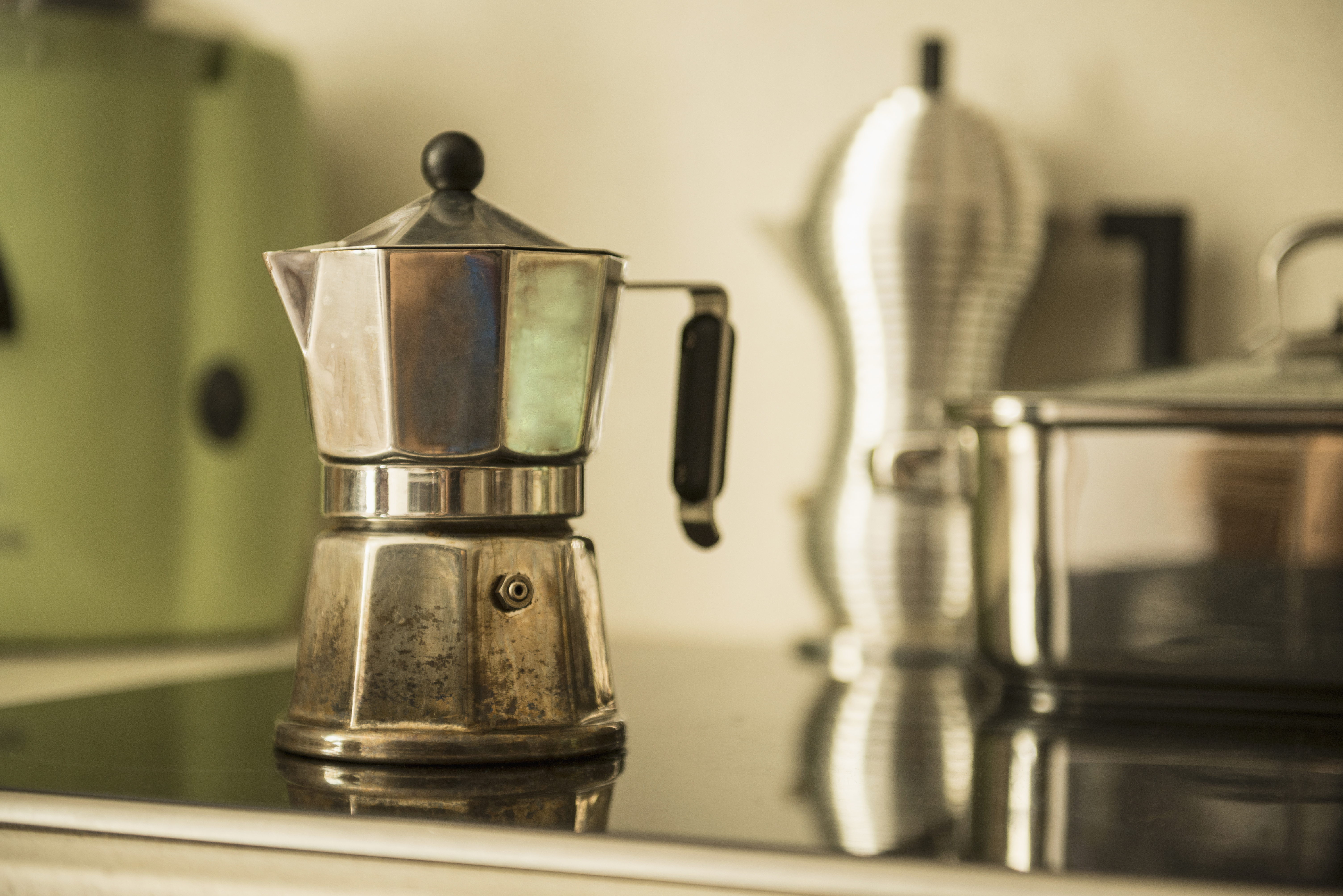 Espressokocher (Quelle: Thinkstock by Getty-Images/Dreet Production)