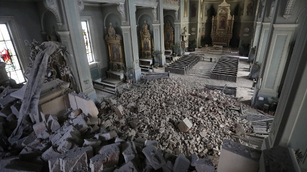 Die Kathedrale in Zagreb (Quelle: imago images/Xinhua)