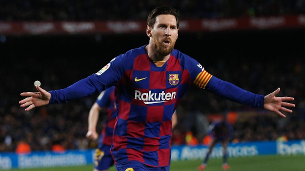 Barcelona: All stars including Messi get their salary cut. (Source: imago images / ZUMA Wire)
