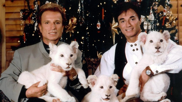 """Siegfried & Roy"": Siegfried trauert um seinen Partner Roy.  (Quelle: dpa/Fotoreport Shandwick)"