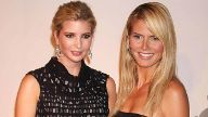 June 24 2008 New York New York U S IVANKA TRUMP AND HEIDI KLUM ARRIVING AT PARTY TO CELEBRAT