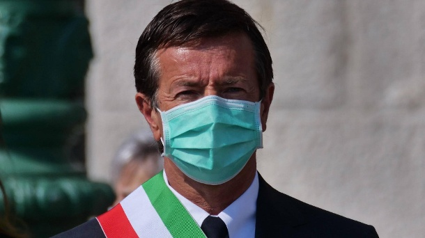 Giorgio Gori: The mayor of the Italian city of Bergamo considers it likely that half of the residents were infected with the corona virus. (Source: imago images / Pacific Press Agency)