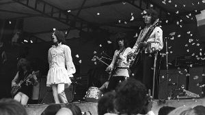 05.07.1969: Die Rolling Stones trauern im Hyde Park (Quelle: imago images/United Archives International)