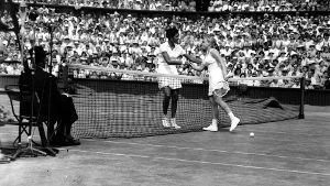 06.07.1957: Die erste Afroamerikanerin gewinnt in Wimbledon (Quelle: imago images/United Archives International)