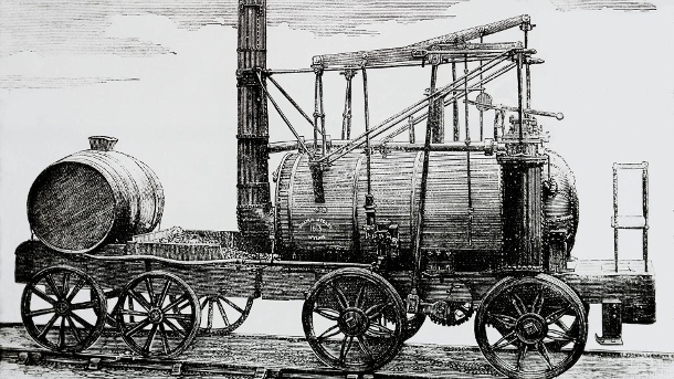 Drawing Of William Medley s Locomotive The Puffing Billy 1813 magic Lantern Slide PUBLICATIONxINxGER (Quelle: imago)
