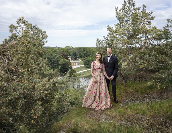 Victoria und Daniel im Juni 2020 (Quelle: Elisabeth Toll, The Royal Court of Sweden)