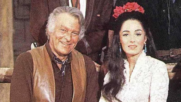 """High Chaparral"": Leif Erickson und Linda Cristal im Jahr 1967. (Quelle: imago images / United Archives)"