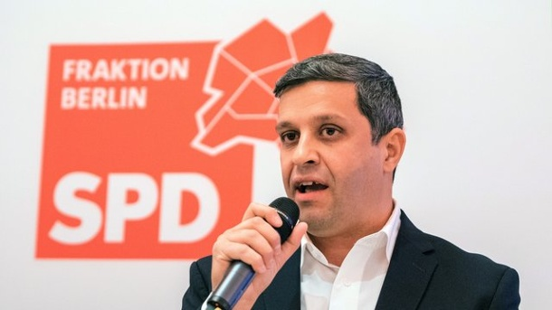 Saleh warnt vor Aktionismus bei Pop-up-Radwegen. Raed Saleh