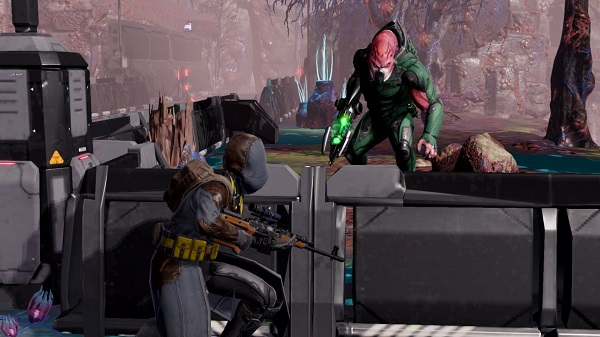 """High tension: The tactical battles of """"XCOM 2"""" have lost none of their fascination on the Switch.  (Source: dpa / 2K Games)"""