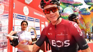 Chris Froome: Der Brite wechselt von Ineos zum Team Israel Start-Up Nation.